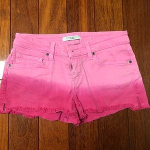 Rich&Skinny Pink Ombre Jean Shorts